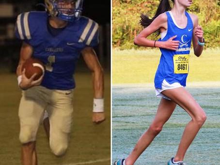 Matt Layton ('22) and Gabby Jourdain ('24) named as SCISA Players of the week
