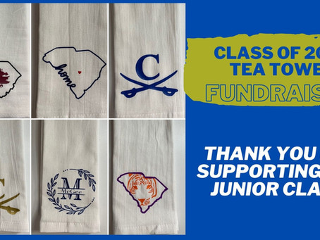 Class of 2022 Tea Towel Fundraiser