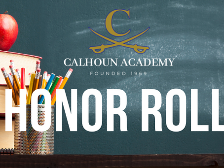 2020-2021 First Quarter Honor Roll Announced