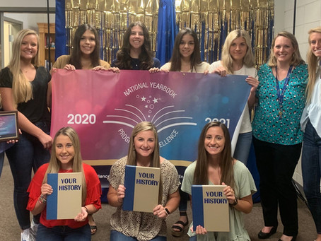 Calhoun Academy Named Jostens 2021 National Yearbook Program of Excellence