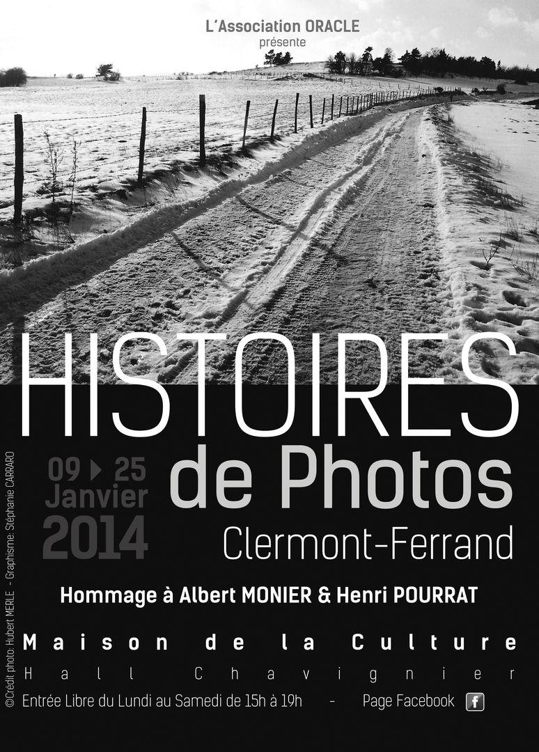 HISTOIRES DE PHOTOS //////////////////////////////////////// Affiche Poster d'Exposition pour l'Association O.R.A.C.L.E ////////////////////////////////////////  Stéphanie Carraro, l'Atelier de La Paloma Blanche.