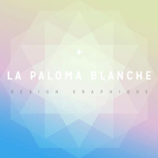 LA PALOMA BLANCHE ////////////////////////////////////  Conception Graphique  Logo / Logotype  Spécialiste de l'Identité Visuelle et de l'Impression. ///////////////////////////////////  Stéphanie Carraro, l'Atelier de La Paloma Blanche.