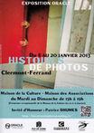 HISTOIRES DE PHOTOS  ////////////////////////////////////////  Affiche Poster d'Exposition pour l'Association O.R.A.C.L.E  ///////////////////////////////////////  Stéphanie Carraro, l'Atelier de La Paloma Blanche.
