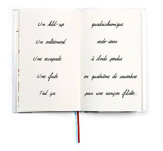 CARNET  DE CALLIGRAPHIE  ///////////////////////////////  Typographie manuscrite  Texte imprimé sur carnet  /////////////////////////////////  Stéphanie Carraro, l'Atelier de La Paloma Blanche.