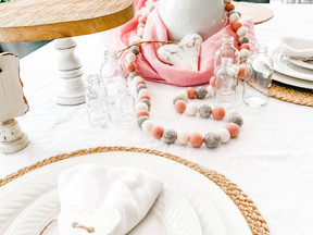 A Rustic Valentine Table for Two