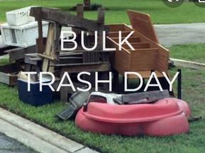 #BULK TRASH DAY