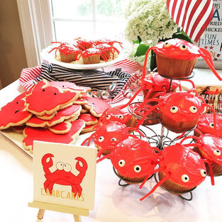 Crab Themed Party
