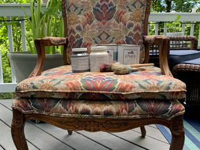Custom Chair Makeover