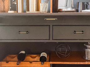 WINE AND COFFEE BAR MAKEOVER