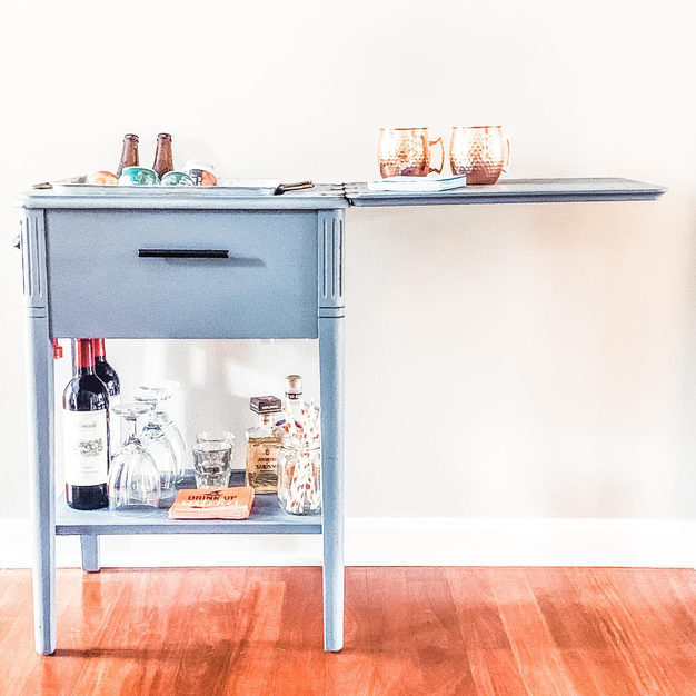 Sewing Machine - Bar Cart