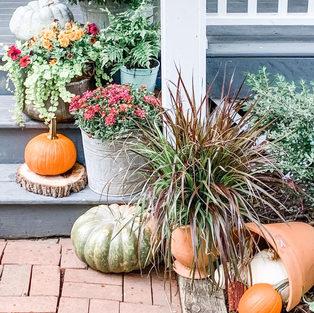 Autumn Porch Decor