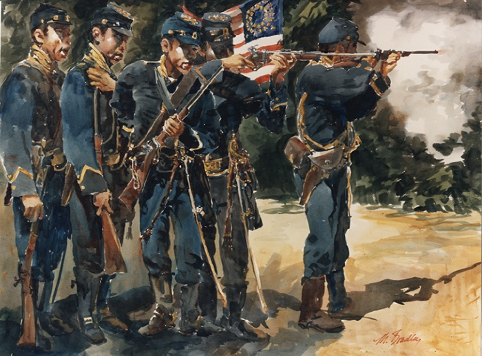 517 Buffalo Soldier