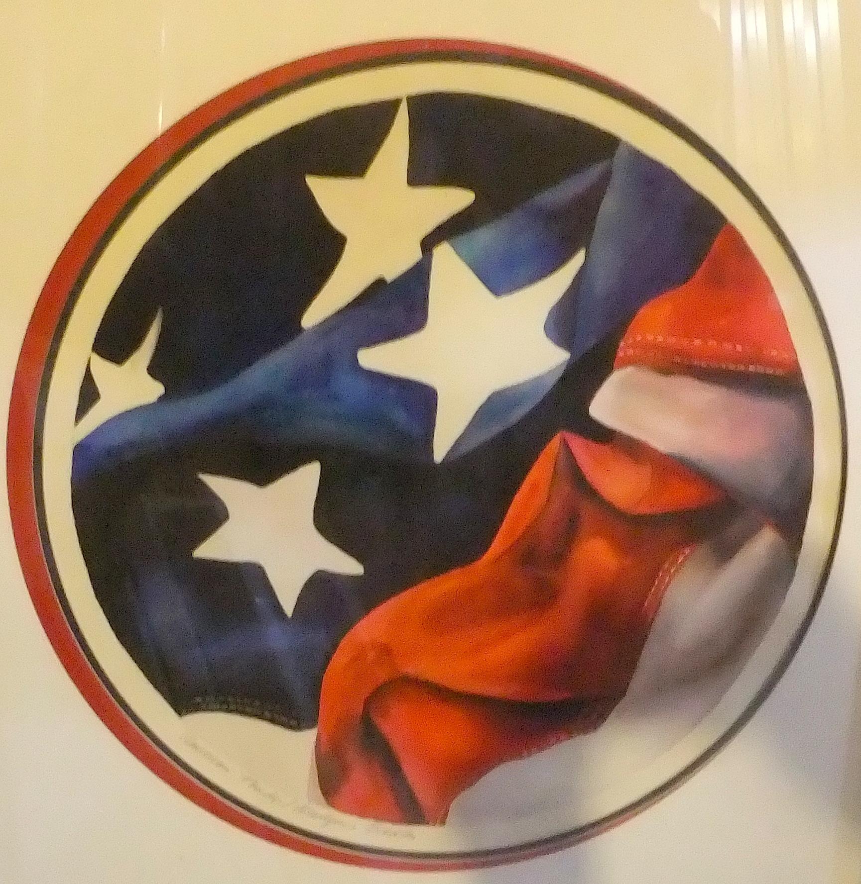 738 Tondo Flag