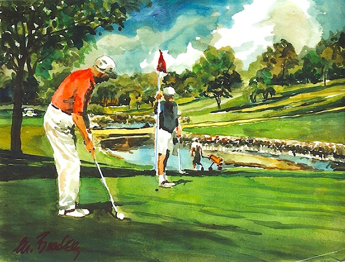 043 Golfers