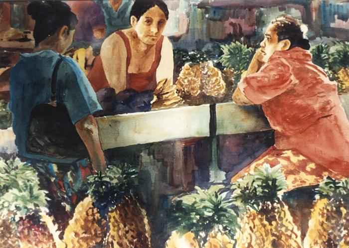 546 Papeete Market