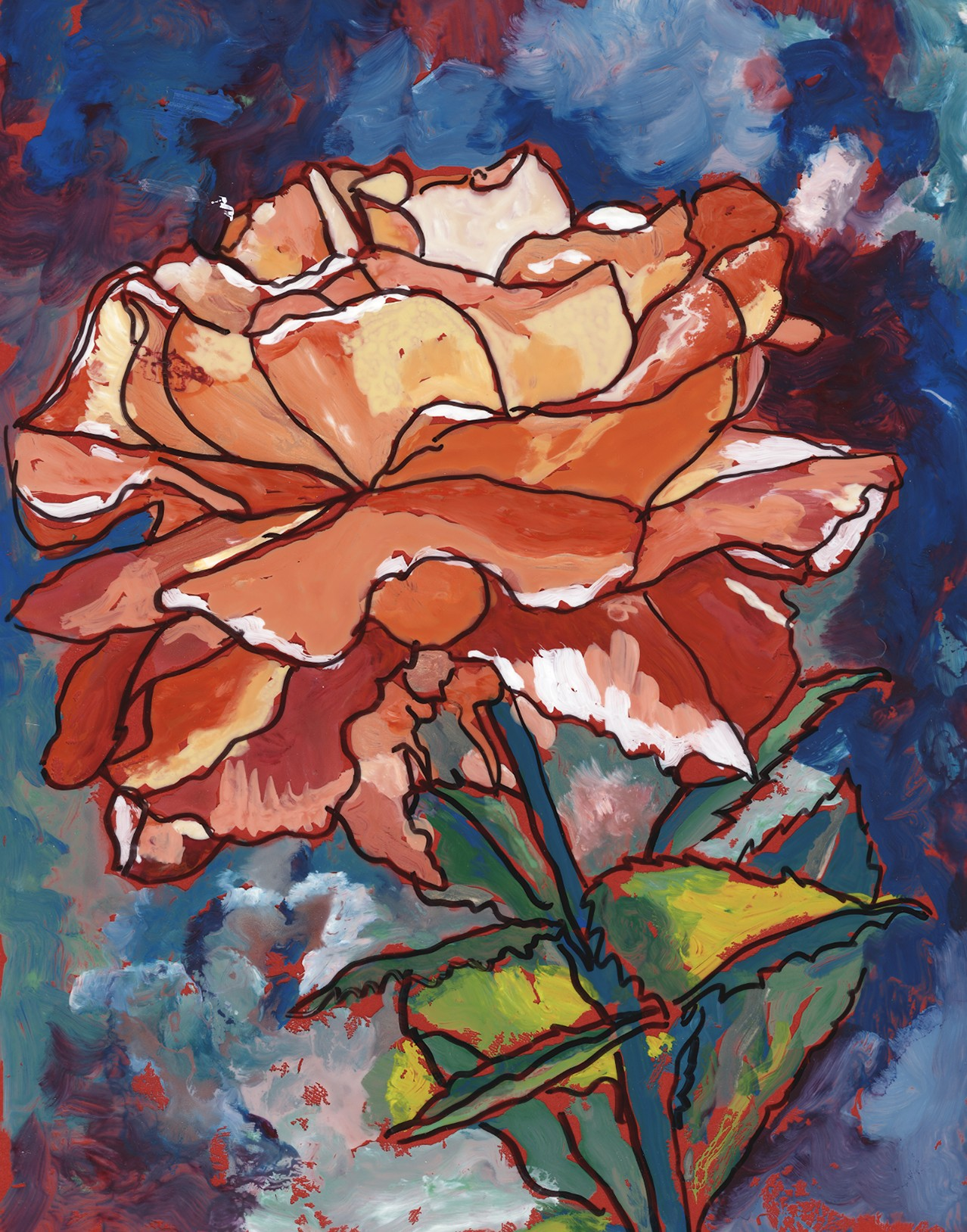 736 Rose