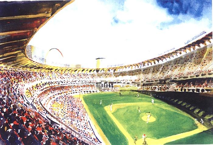 041Old Busch Stadium Interior