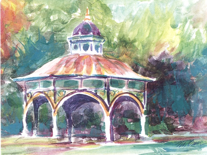 167 Tower Grove Gazebo