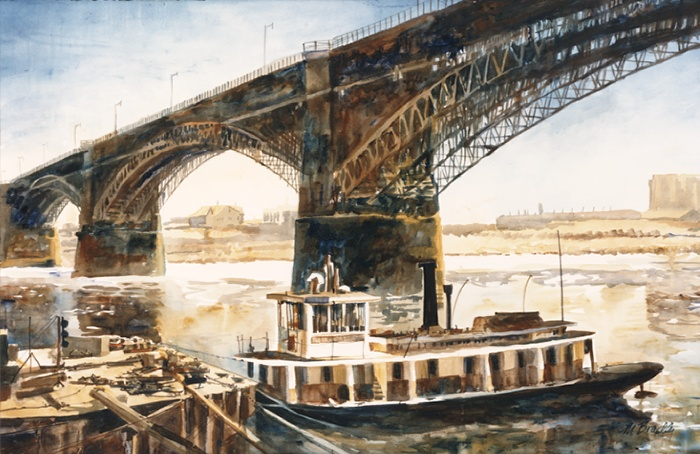 113 Eads Bridge and Tow