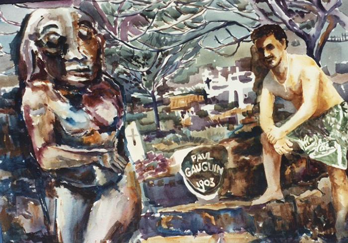 539 Gauguin's Grave