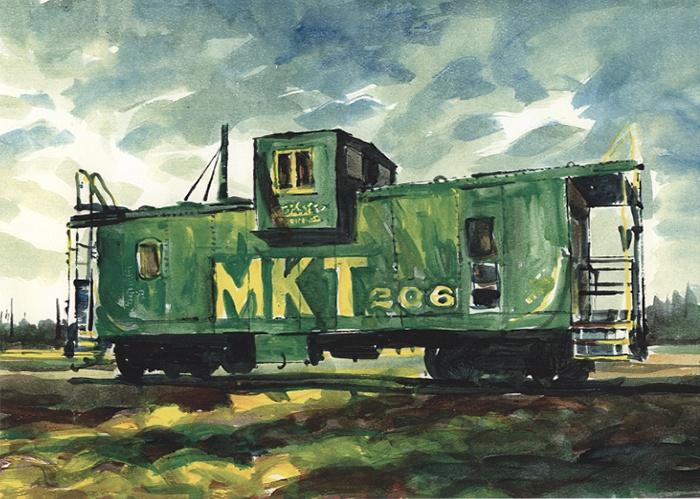 398 MKT Caboose