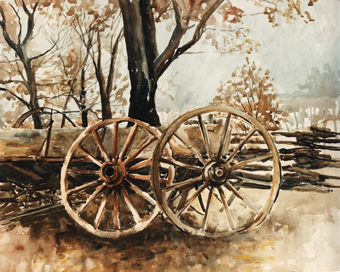 529 Wagon Wheels