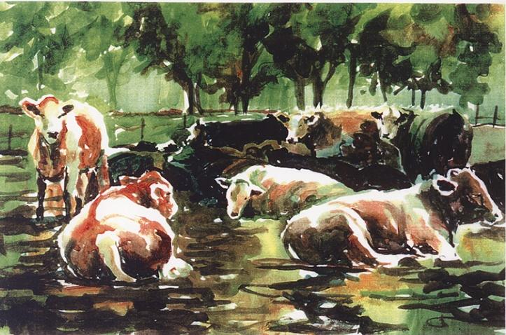 415 Marthasville Cows