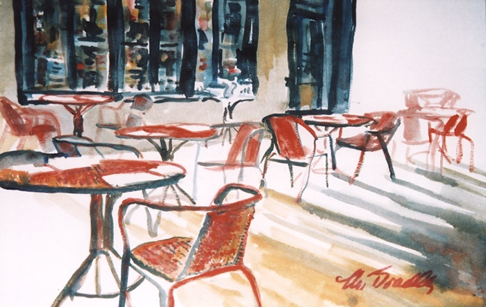 073 Red Chairs