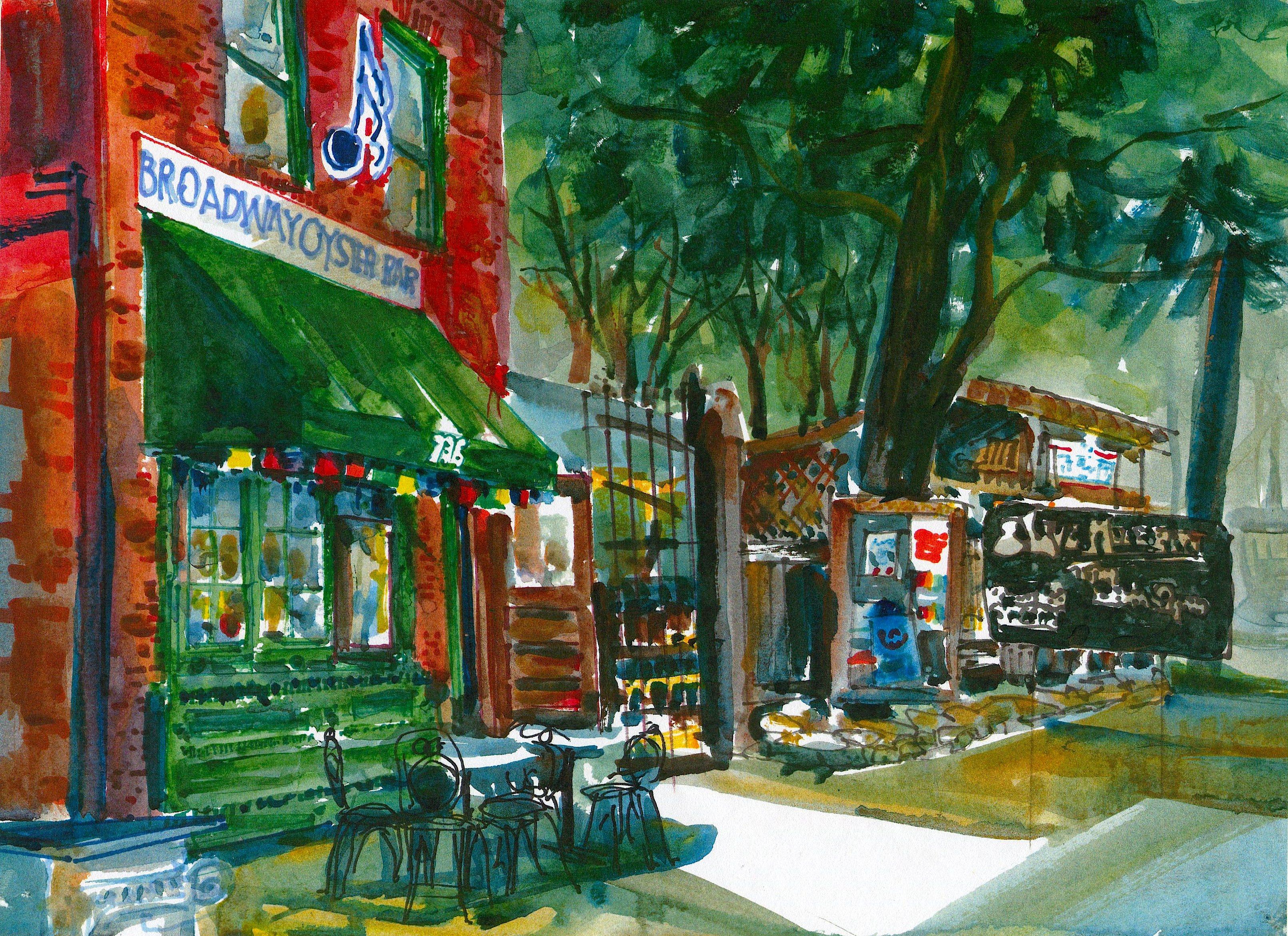 627 Broadway Oyster Bar
