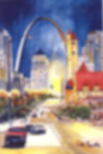 St Louis in Watercolor: the Architecture of a City