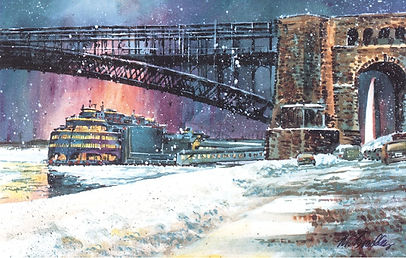 Once Upon a Time in St. Louis: Bygone Scenes in Watercolor