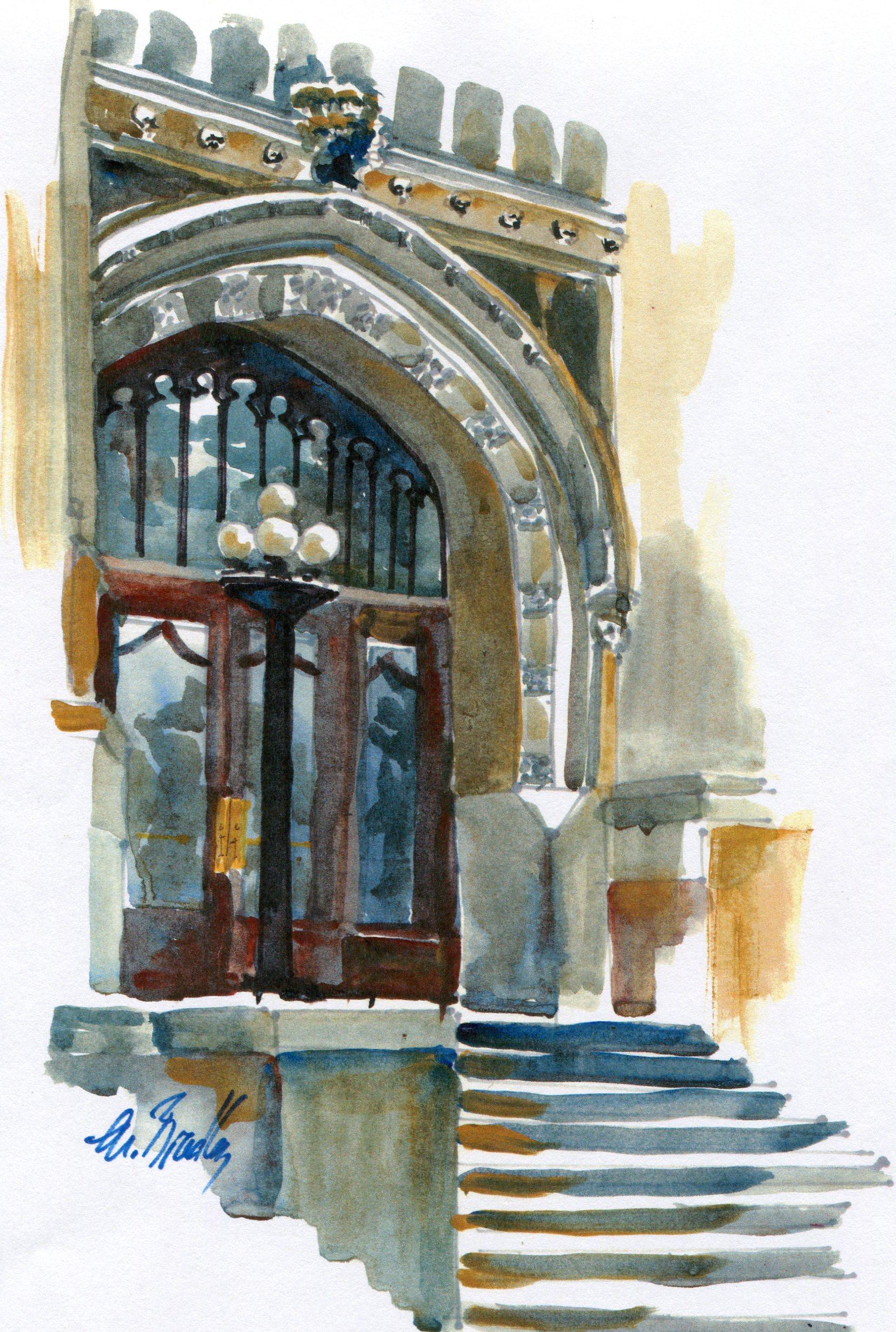 711 Webster University Doors