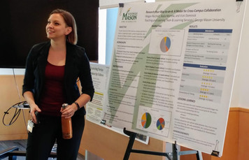 Presenting a Poster at the GMU Libraries Research + Scholarship Forum - 2019