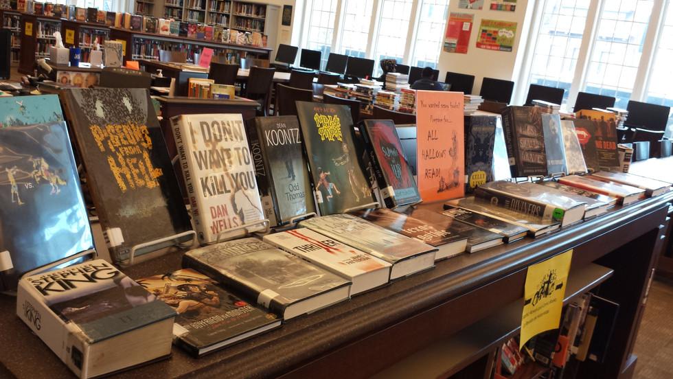 All Hallows Read Book Display
