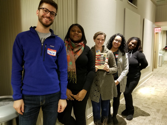 Faculty Field Trip to Ibram X. Kendi author talk for our faculty book club