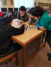Playing Chess at Lunch