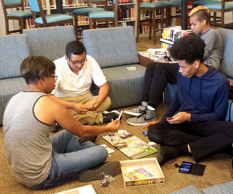 Gaming Day in the Library