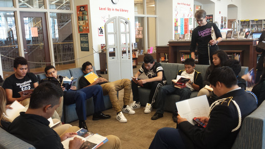 Library Day for English Class