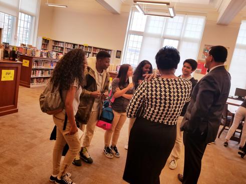 Students Meet Former Secretary of Education John B. King