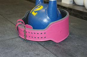 belt for kettlebell sport custom-made