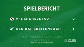 VfL Michelstadt – KSG Rai-Breitenbach 0:1 (0:1)