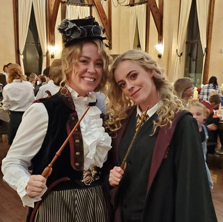 Witches in Great Hall