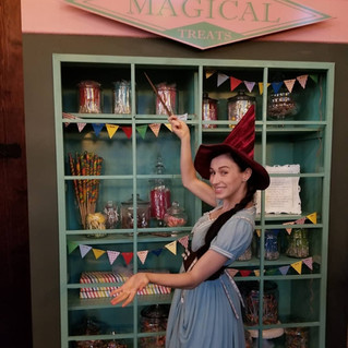 Sweet Shop Witch