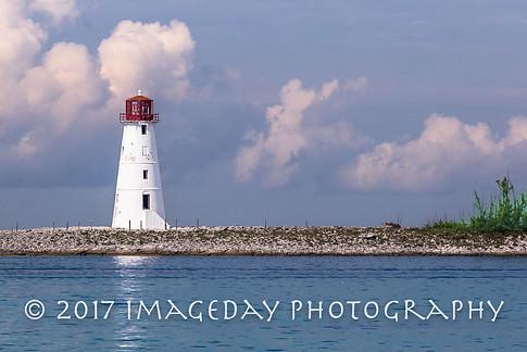 The old lighthouse, Paradise Island, Nassau, Bahamas