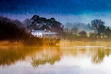 Cottage on the lake, Derwentwater