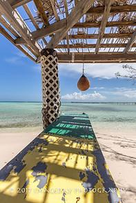 The bar is closed, Long Dock, Abaco, Bahamas