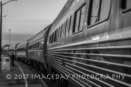 Early morning Amtrak, Niagara Falls Station