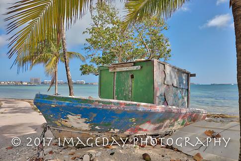 Fishing days are over, Nassau, Bahamas