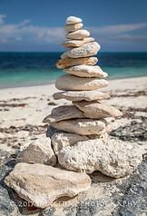 Beach Stack, Nassau, Bahamas