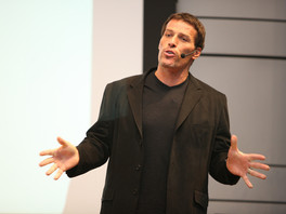 Tony Robbins: 20 years of reading his stuff and after 10 years of working out